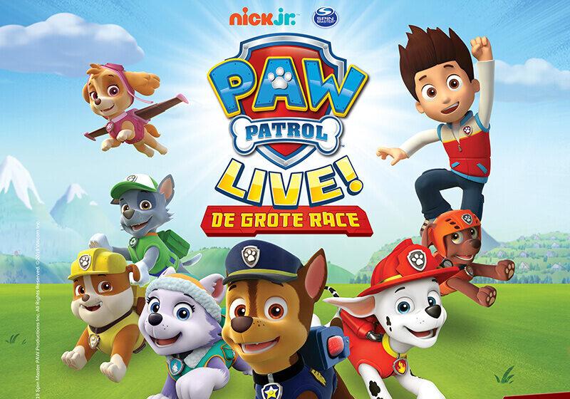 Overzicht PAW Patrol Live liggend